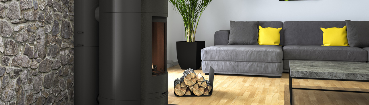 Systèmes étanches pour foyers bois, granulés de bois et gaz
