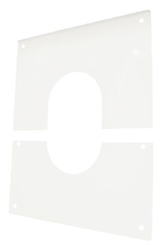 Plaque de propreté en 2 parties Apollo Chauffage concentrique