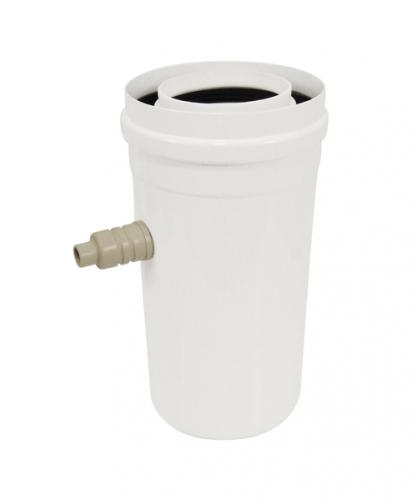 Récupérateur condensats concentrique Apollo chauffage inox