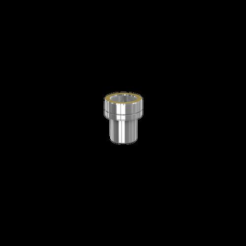 Adaptateur Double Paroi Orion vers Simple Paroi Lisse