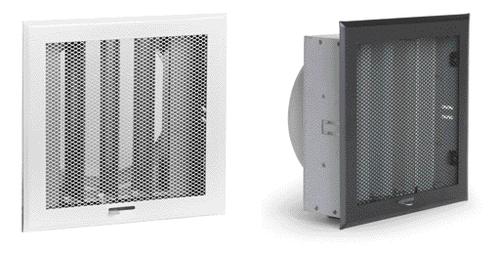 Grilles d'air chaud métal déployé diffusion d'air